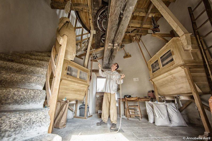 Moulin à vent du Chêne (79) : réhabilitation d'un patrimoine utile