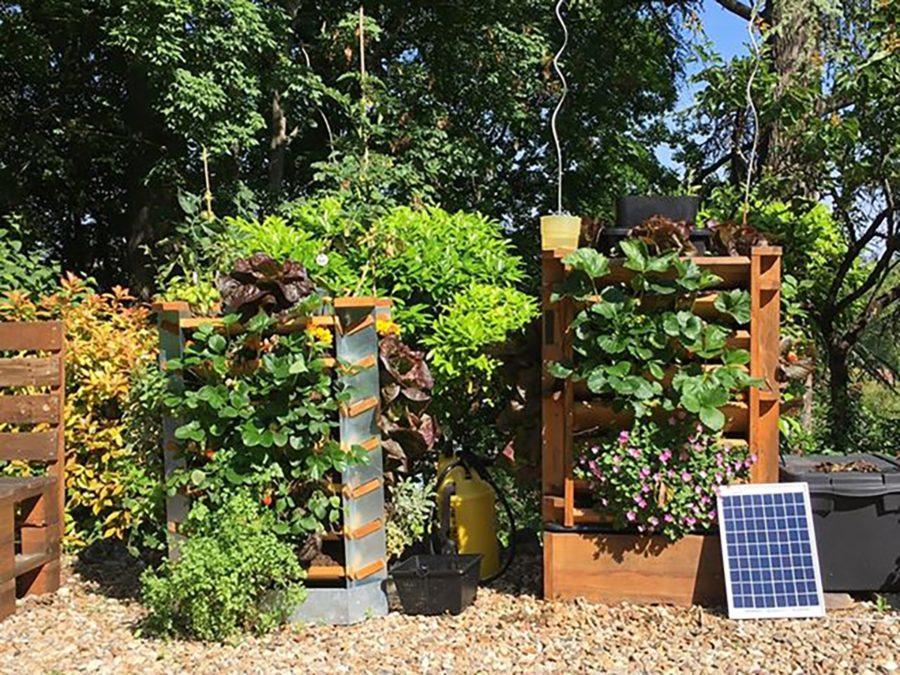 Vertika, un potager-composteur urbain conçu à Poitiers