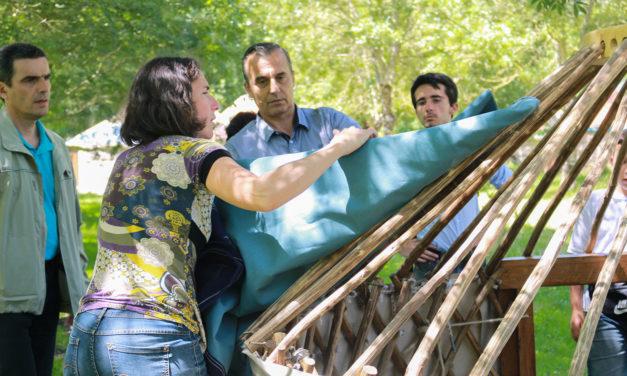 De l'immeuble à la yourte : bienvenue à l'éco-camping de La Frênaie